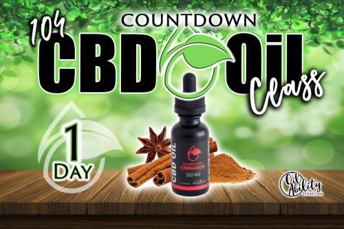 CBD Oils Class-1 day countdown