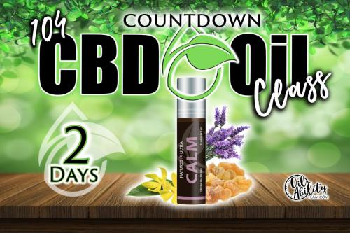 CBD Oils Class-2day countdown