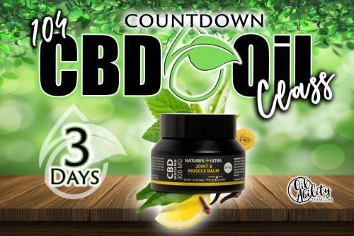 CBD Oils Class-3day countdown