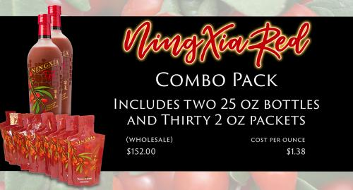 NingXia Red Combo Pack Slide