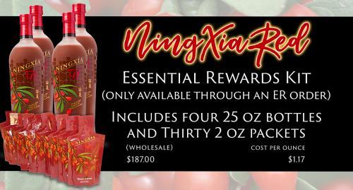 NingXia Red Essential Rewards Kit Slide