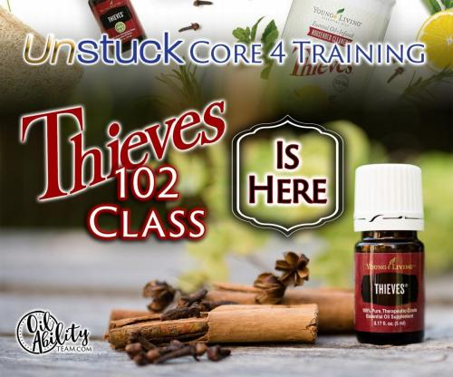 Thieves 102 Class is here